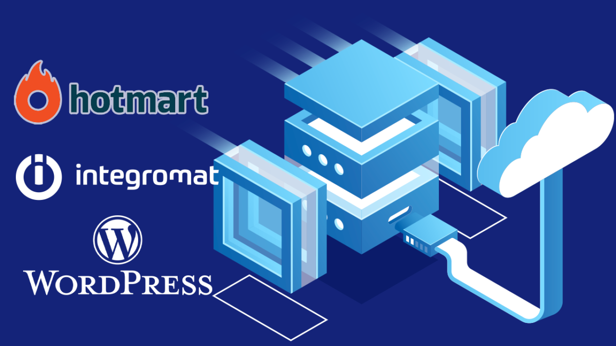 Conectar Hotmart con WordPress usando Integromat